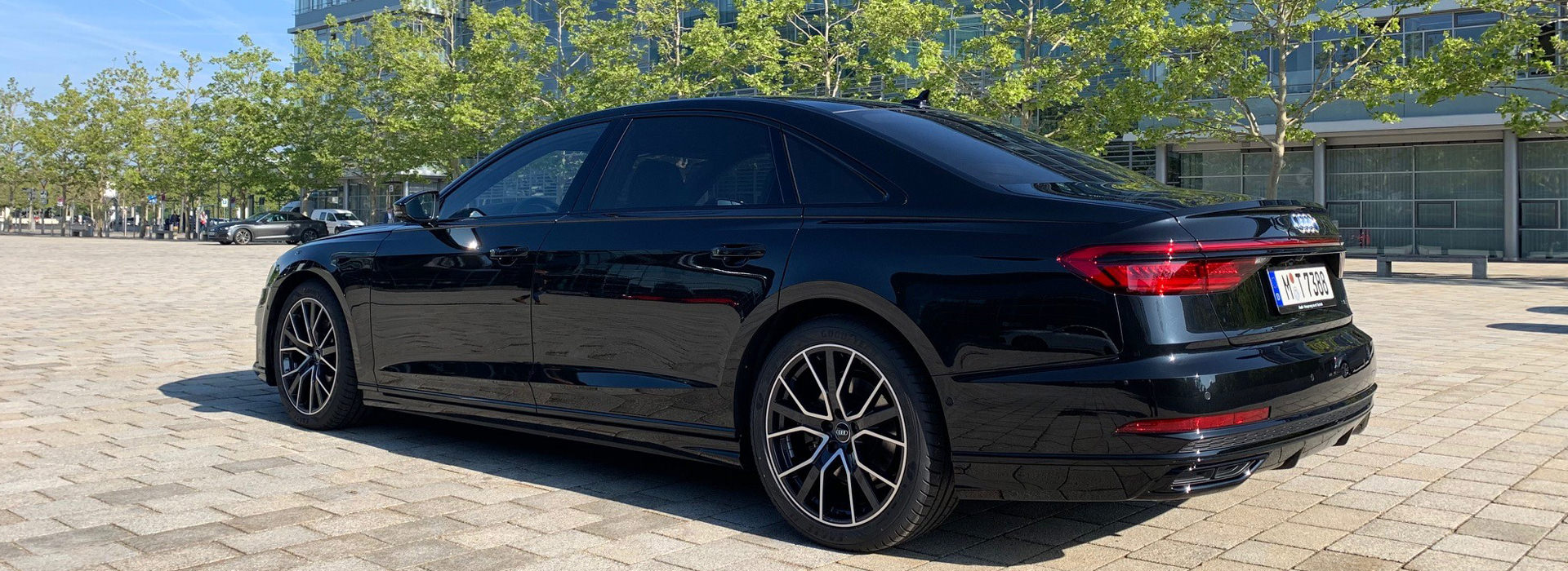 Audi A8 Chauffeur Munich