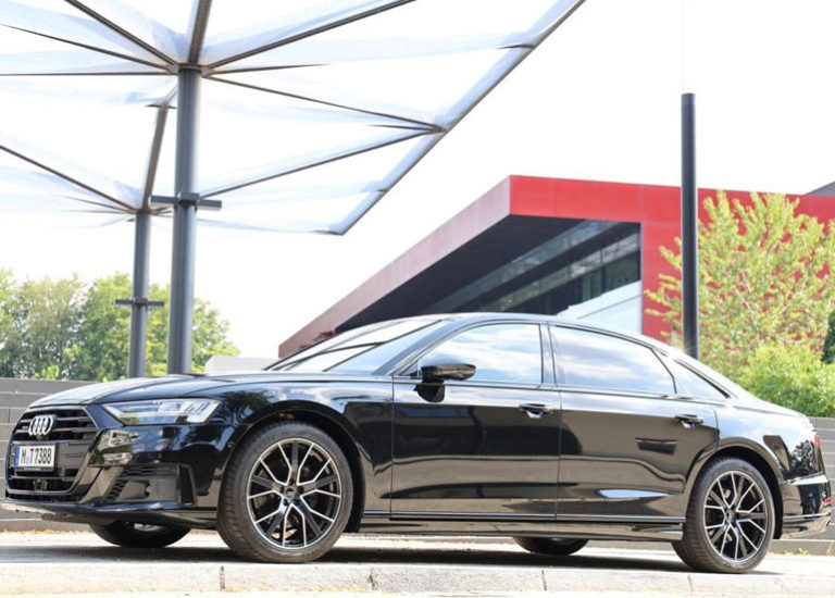 Chauffeurservice München Audi A8 quattro